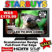 19 LCD TV DVD Freeview