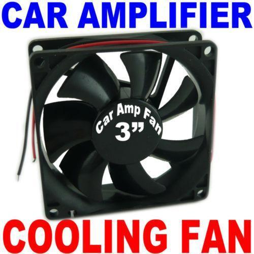 Turbo Universal Capacitor: Car Amp Fan
