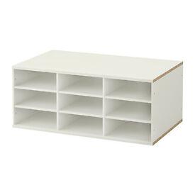 IKEA Komplement section shelves white for IKEA PAX wardrobe