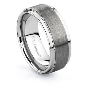 Men's Wedding Band - Tungsten Carbide - Size 10