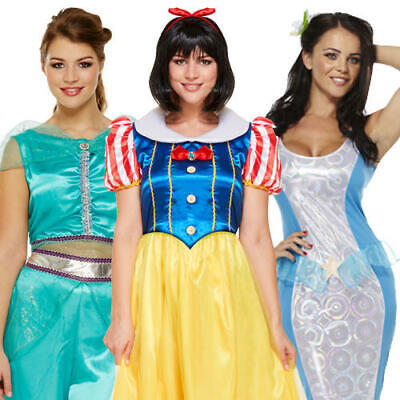 Fairy Tale Princess Ladies Fancy Dress World Book Day Adults Costume Outfits ](Fairy Tale Outfits)