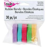 Wide Rubber Bands