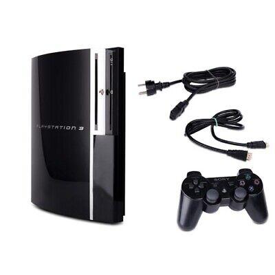 PS3 Fat Konsole 40GB 60GB 80GB 160GB Festplatte - Zubehörpaket frei wählbar (Ps3 80 Gb Konsole)