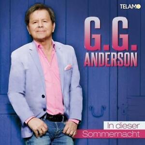 G.G. ANDERSON IN DIESER SOMMERNACHT CD NEU OVP TELAMO GG G G