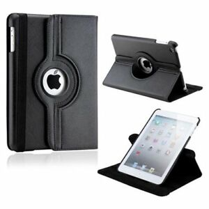 Black 360° Rotating iPad Mini 2, Mini 3 & Mini 4 Smart Case