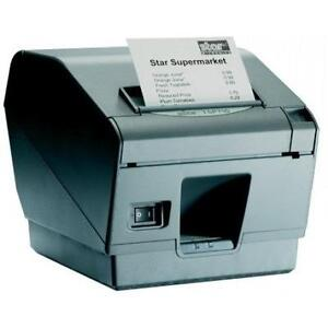 Star TSP700 - Thermal Receipt / Label Printer - POS - USB Connection - Charcoal