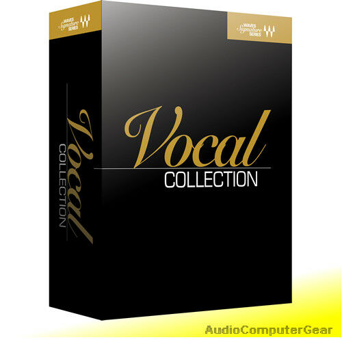 Waves SIGNATURE SERIES VOCALS Bundle Audio Software Effect Plugin Collection NEW