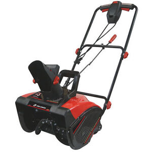King Canada 18-in. Electric Snow Thrower - Opened Box