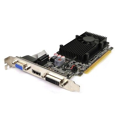 EVGA GeForce GT 610 2GB DDR3 PCIe DVI/VGA Video Card HDMI HDCP Support
