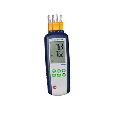 Digi-sense Wd-20250-03 Type-kj 4-input Thermocouple Probe Thermometer