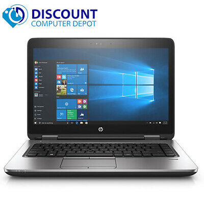 "Laptop Windows - HP Laptop 14"" Probook 640 G1 Intel Core i5 8GB RAM 128GB SSD WiFi Windows 10 Pro"