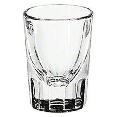 2 oz Fluted Clear Shot Glass Whiskey Rum Vodka Liquor Bar by Libbey 5126 1 dozen Libbey Fluted Whiskey Glass