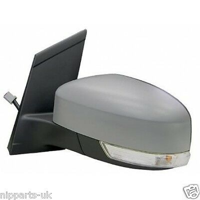 FORD FOCUS 2008 2011 ELECTRIC DOOR WING MIRROR LH LEFT PASSENGER SIDE NEAR NS