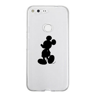 Mickey Mouse Silhouette Sticker Die Cut Decal mobile cell phone Smartphone Decor
