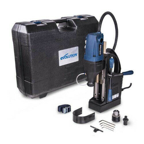 Evolution S28MAG 1-1/8 Inch Magnetic Drill with Carry Case