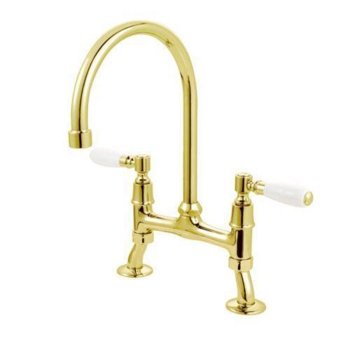Brass Kitchen Sink Taps | eBay