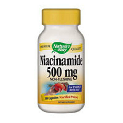 (Niacinamide 100 Caps 500 mg by Nature's Way)