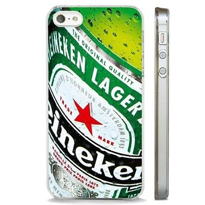 Beer Lager Alcohol Drink CLEAR PHONE CASE COVER fits iPHONE 5 6 7 8 X Iphone Lager