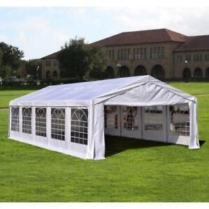 Sale @ WWW.BETEL.CA || Brand New 32' x 16'ft Large Steel Wedding & Event Catering Tent || We Deliver FREE!!