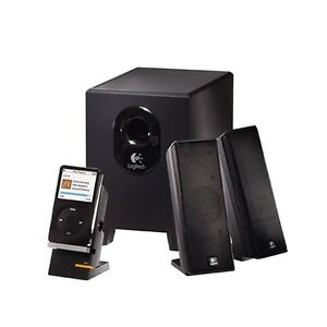 Logitech X-240 2.1 Speakers (Black)