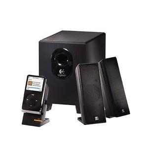 Logitech X-240 2.1 Speakers (Black)