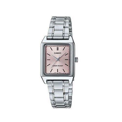 e0c3b6a4bdb1 Casio LTP-V007D-4E Women s Stainless Steel Bracelet Watch PINK Dial NEW  MODEL