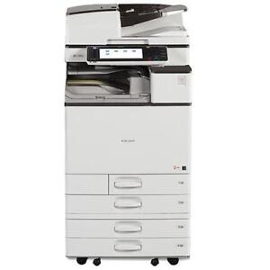 Ricoh HIGH SPEED Colour Copy Machine MP C4503 MPC 4503 11x17 12x18 45PPM Stapler REPOSSESSED Copiers BUY LEASE WAARANTY