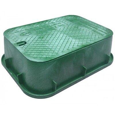 Dura COMMERCIAL JUMBO SQUAT VALVE BOX 545x375x150mm Rectangular,Green* USA Brand