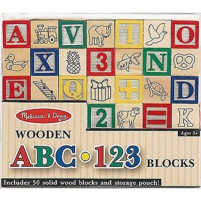 ABC123 Wooden Blocks. Delivery is Free
