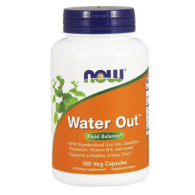 Water Out Herbal Diuretic 100 Vcaps By Now Foods