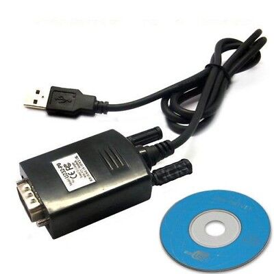 USB to RS232 Serial Cable COM DB 9 Pin Lead with driver for Window 7 MAC OS (Usb To Rs232 Cable Driver For Windows 7)