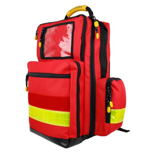 DOCbag Notfallrucksack Polyester rot Notfalltasche Rettungsrucksack Erste-Hilfe