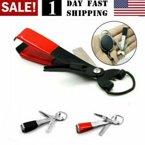 US Fishing Quick Knot Tying Tool  4 in 1 Fly Line Clippers with Zinger Retractor