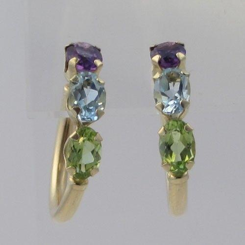 Blue Topaz And Peridot Jewelry Amp Watches Ebay