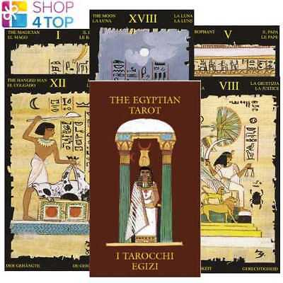 EGYPTIAN MINI TAROT CARDS DECK ESOTERIC LO SCARABEO NEW