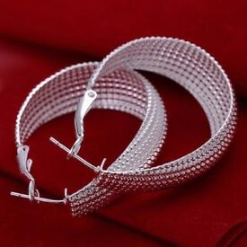 BRAND NEW 925 Solid Silver Earrings