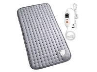 MARNUR Electric Heating Pad with Auto Shut Off and 6 Levels Temperature Back Neck Legs Soft Plush