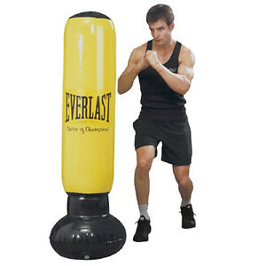 new everlast power tower inflatable punching boxing bag. Black Bedroom Furniture Sets. Home Design Ideas