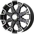 8x170 20 Black Wheels