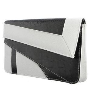 b89eca08acaf Black and White Clutch Bags