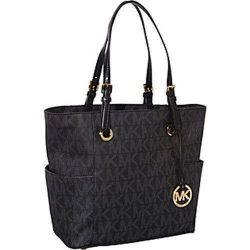 michael kors signature logo handbag ebay. Black Bedroom Furniture Sets. Home Design Ideas