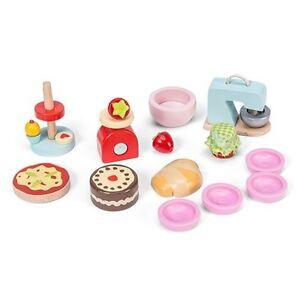 Le Toy Van Daisy Lane Make & Bake Set, Wooden Children's Dolls House Accessory