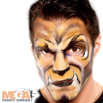 Brown Cream Make Up Fancy Dress Halloween Animal Kids Adults Costume Face Paint - Brown Face Paint Halloween