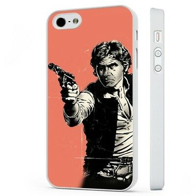 Hans Solo Empire Strikes Back Star Wars WHITE PHONE CASE COVER fits iPHONE