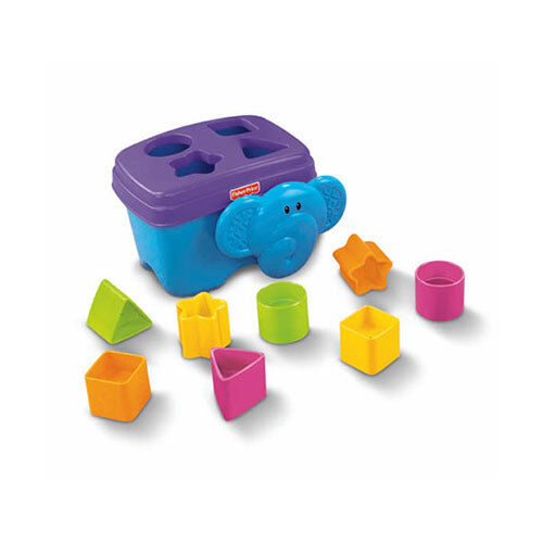Fisher-Price Growing Baby Elephant Shape Sorter 6 Months+