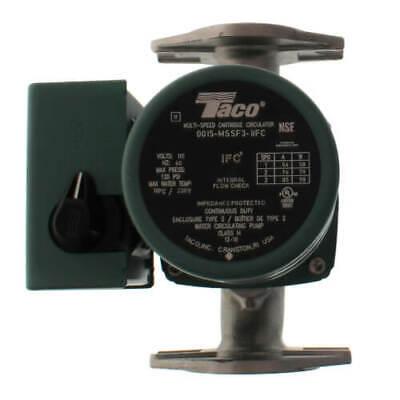 Taco 0015-mssf3-1ifc Stainless Steel Circulator Pump Wifc 120 Hp Rotated Flang