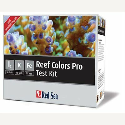 Red Sea Fish Pharm ARE21515 Saltwater Reef Color Pro Multi Test Kit for Aquarium