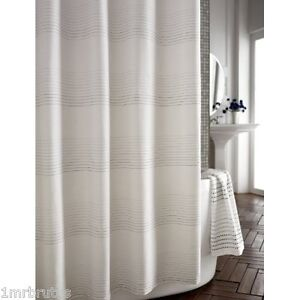 Purple Striped Shower Curtain in Bathroom Shower Curtains | eBay