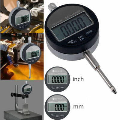 0-12.7mm0.5 Digital Probe Range 0.01mm0.0005 Dial Indicator Clock Dti Gauge