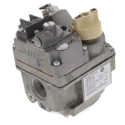 """Robertshaw 700-506 Millivolt Combination Gas Valve 3/4"""" x 3/4"""", 300,000 BTU"""